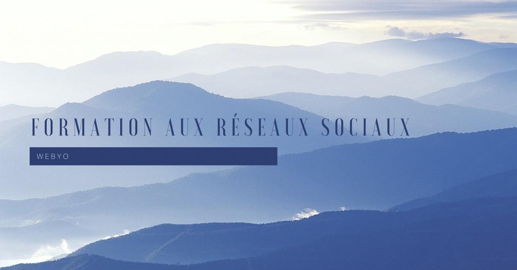 formation reseaux sociaux